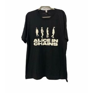 Alice In Chains Men's Concert T-shirt Size XL